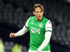 Scott Allan made his return to action for Hibs during the Betfred Cup semi-final clash with St Johnstone last month (Jeff Holmes/PA)