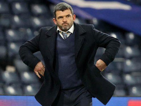 St Johnstone boss Callum Davidson is set to face long-time friend Graham Alexander (Jeff Holmes/PA)