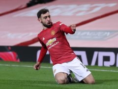 Bruno Fernandes has been a galvanising figure for Manchester United (Martin Rickett/PA)