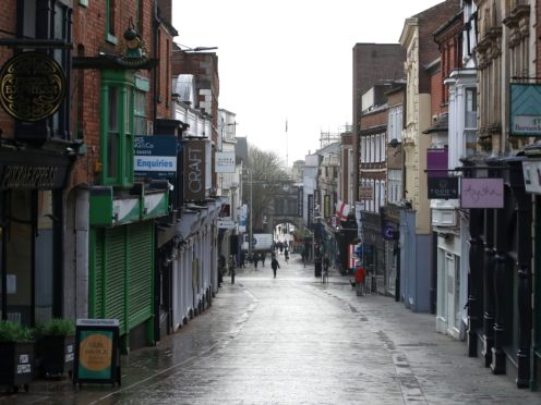 Thousands of high street businesses have been forced to remain shut during large parts of the pandemic (Tim Goode/PA)