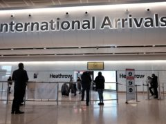 Passengers arrive back in the UK at Heathrow Terminal 2 international arrivals, during England's third national lockdown to curb the spread of coronavirus. Picture date: Friday January 29, 2021.