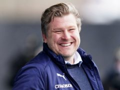 Karl Robinson was pleased with Oxford's character (Tess Derry/PA)