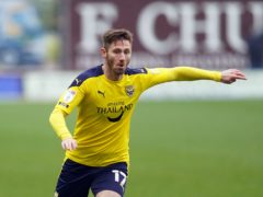Oxford forward James Henry came off the bench as he returned from a dead leg at the weekend (Tess Derry/PA)