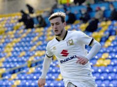 Charlie Brown earned MK Dons a dramatic victory (Kirsty O'Connor/PA)