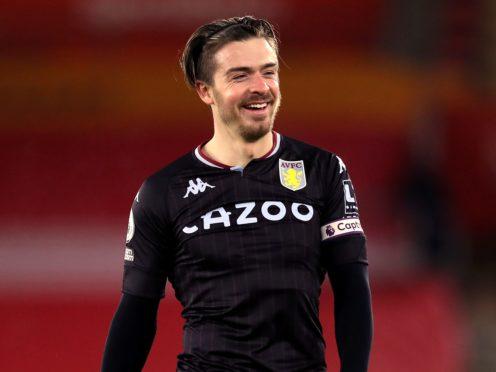 Jack Grealish produced his ninth Premier League assist of the season in Aston Villa's win at Southampton (Naomi Baker/PA)