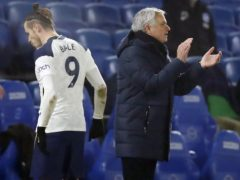 Jose Mourinho was without Tottenham attacker Gareth Bale for the trip to Everton (Andrew Boyers/PA)
