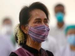 Myanmar leader Aung San Suu Kyi has reportedly been arrested (Aung Shine Oo/AP)