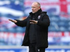 Ross County manager John Hughes was happy with the win over Hamilton (Jane Barlow/PA)