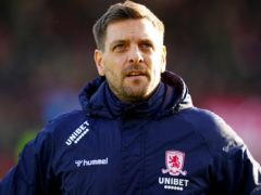 Former Middlesbrough manager Jonathan Woodgate, pictured, is in temporary charge of Bournemouth following the sacking of Jason Tindall (John Walton/PA)
