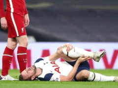 Harry Kane has been out with an ankle injury (Nick Potts/PA)