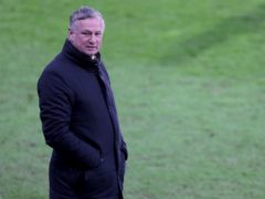 Michael O'Neill's Stoke were held by Reading (Richard Sellers/PA)