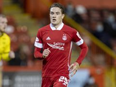 Scott Wright, pictured in an Aberdeen kit, was happy to sign for Rangers (Jeff Holmes/PA)