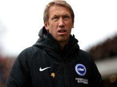 Brighton boss Graham Potter is preparing to face Liverpool (Nick Potts/PA)