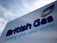 British Gas owner Centrica has seen annual underlying earnings plunge by nearly a third (Steve Parsons/PA)