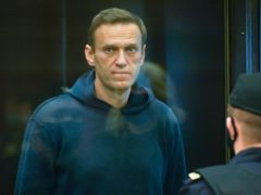 Russian opposition leader Alexei Navalny (Moscow City Court via AP)