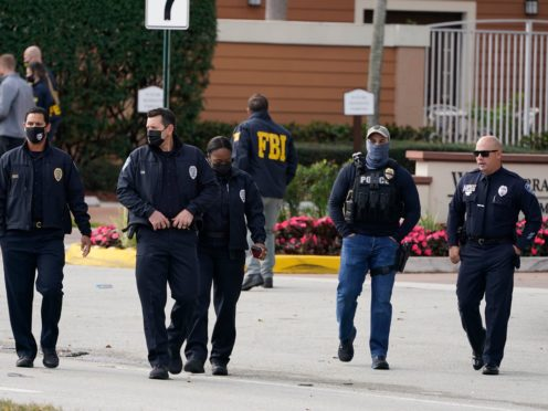 The shooting took place while an arrest warrant was being served (AP/Marta Lavandier)