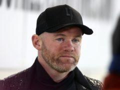 Wayne Rooney was not happy with Rotherham's chairman (Martin Rickett/PA)