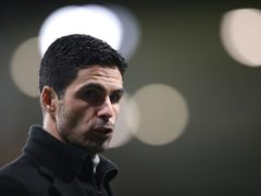 Arsenal manager Mikel Arteta has labelled Manchester City as the best team in Europe (Nick Potts/PA)