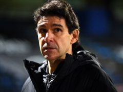 Aitor Karanka says he is not worried about his Birmingham side being relegated (Victoria Jones/PA)