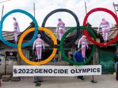 Sir Ed Davey has urged ministers and GB athletes to boycott the winter Olympics in China (Ashwini Bhatia/AP)