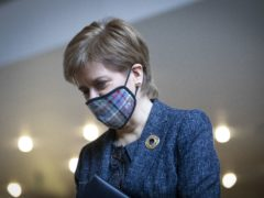 First Minister Nicola Sturgeon said both she and NHS Fife were sorry after pensioners had to queue in the cold for overbooked vaccine appointments (Jane Barlow/PA)