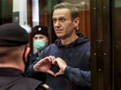 Russian opposition leader Alexei Navalny has been jailed (Moscow City Court via AP, File)