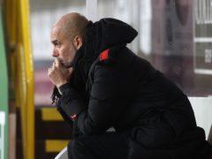 Pep Guardiola said there was no secret to Manchester City's 14-match winning run (Martin Rickett/PA)