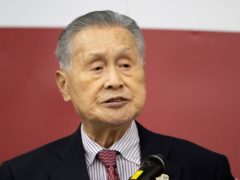 Comments by by Yoshiro Mori, a former prime minister, could force him to resign ahead of the postponed Tokyo Olympics (Takashi Aoyama/Pool/AP)