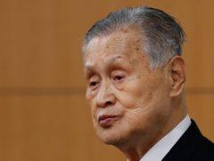 Yoshiro Mori has said he will not resign (Kim Kyung-hoon/Pool Photo via AP)