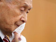 Yoshiro Mori is stepping down (Kim Kyung-hoon/AP)