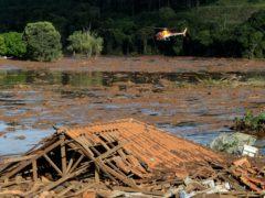 The dam collapse caused devastation in Brumadinho, Brazil (Andre Penner/AP)