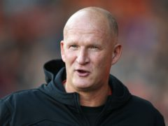 Simon Grayson's first game in charge of Fleetwood ended in a goalless draw (Nigel French/PA)