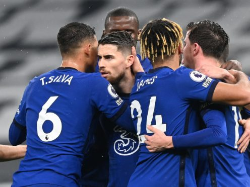 Chelsea beat Tottenham 1-0 thanks to Jorginho's first-half penalty (Neil Hall/PA)
