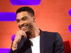 Rege-Jean Page during filming for the Graham Norton Show (Jonathan Hordle/PA)