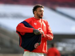 Courtney Lawes has been ruled out against Wales by a chest injury (Adam Davy/PA)