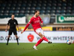 Glenn Murray rolled back the years to score twice at Wycombe (Aaron Chown/PA)