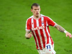 James McClean and his family have been sent threatening messages (Nigel French/PA)
