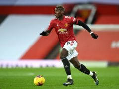 Paul Pogba is a doubt for Manchester United (Michael Regan/PA)