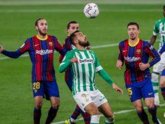Barcelona won at Betis (Miguel Morenatti/AP)