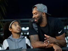 Kobe Bryant and his daughter Gianna died in the crash (AP/Chris Carlson, file)
