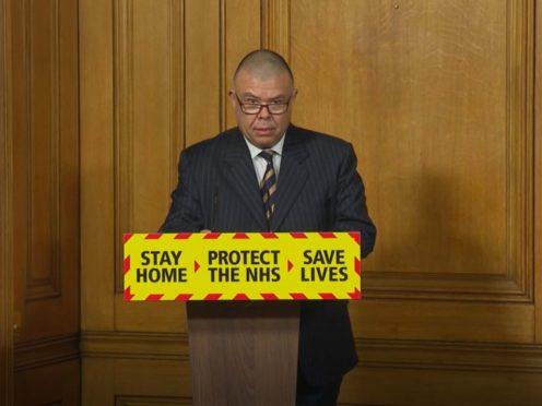 Deputy Chief Medical Officer for England Jonathan Van Tam (PA Video)