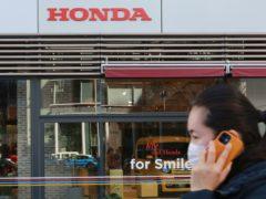 A Honda showroom (AP)