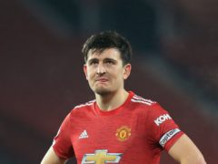 Harry Maguire knows Manchester United have to improve (Lindsey Parnaby/PA)