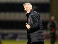 Jim Goodwin's side are closing in on a top-six finish (Andrew Milligan/PA)