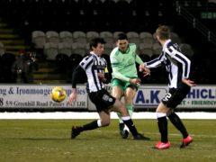 Celtic's Tom Rogic scores against St Mirren (Andrew Milligan/PA)