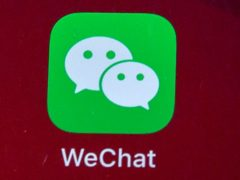 WeChat is owned by Chinese tech giant Tencent (Mark Schiefelbein/AP)
