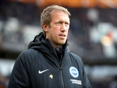 Graham Potter's Brighton are unbeaten in their last six Premier League matches (Nick Potts/PA)