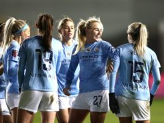 City beat United in the WSL Manchester derby on Friday night (Tim Goode/PA)
