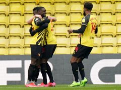 Ismaila Sarr scored twice for Watford (Tess Derry/PA)