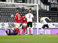 Lee Gregory (right) headed home the opening goal (Bradley Collyer/PA)